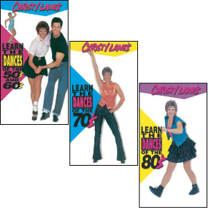 Learn the Dances of the50's, 60's, 70's and 80's