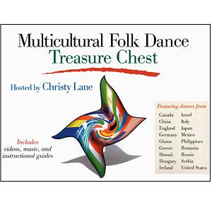 Multicultural Folk Dancing Treasure Chest