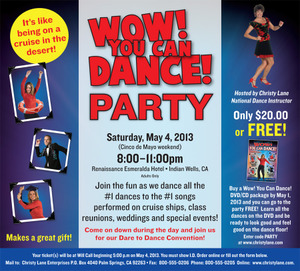 Wow! You Can Dance Party Event Only - Conv 2014